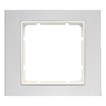 Aluminium geëloxeerd, binnenring polarwit mat