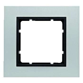 Aluminium geëloxeerd, binnenring antraciet mat
