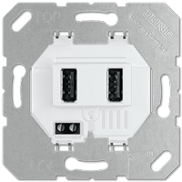 USB-laadcontactdoos
