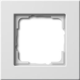 Zuiver wit glanzend vlakke montagewijze