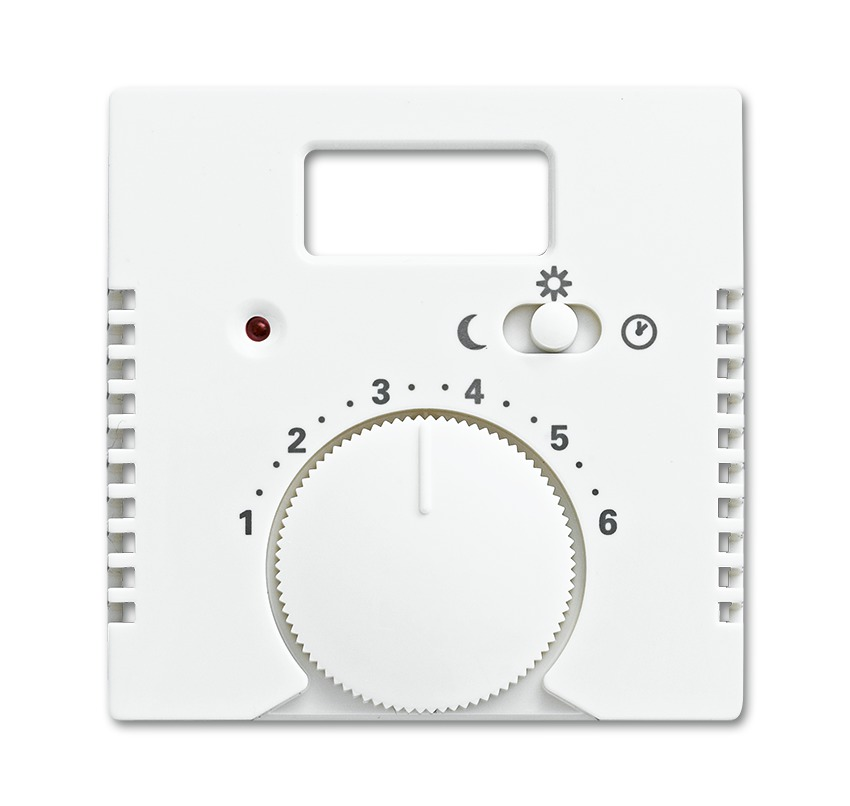 Bedieningselementen voor kamertemperatuur- regelaars