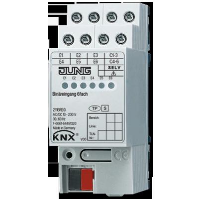 Sensoren voor DIN-rail