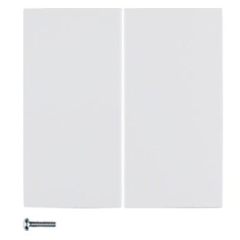 Dubbele inbouwschakelaar/ -dimmer
