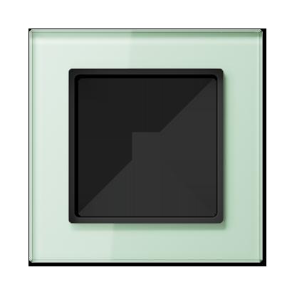 Glazen raam, mat wit