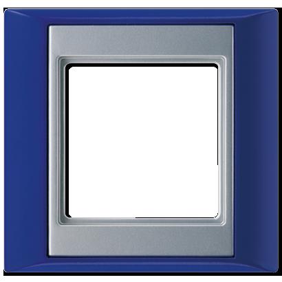 Blauw- Aluminium