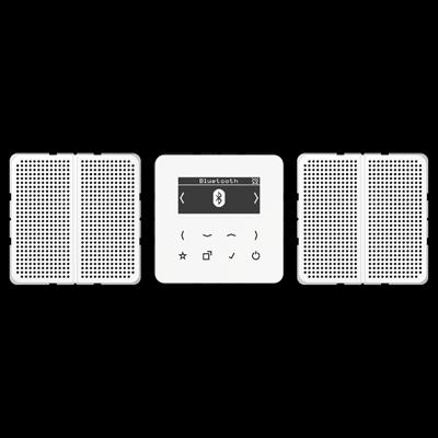 Smart Radio DAB+ Bluetooth, set stereo