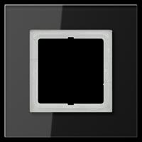 Glazen raam Zwart