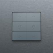 Alu-look steel grey