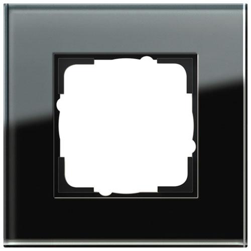 Glas zwart