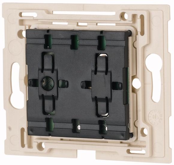 xComfort Pulsdrukker Universeel 55 mm systeem met ledsignalering (Niko)