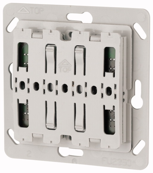 xComfort Pulsdrukker Universeel 55 mm systeem met ledsignalering (Gira, Busch Jaeger, Jung en Berker)
