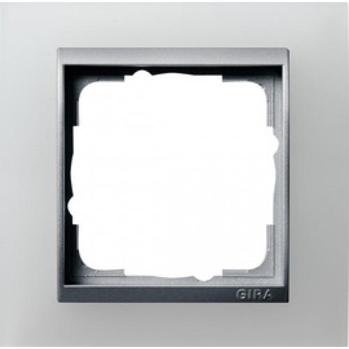 gira 021150 afdekraam breukvast enkelvoudig voor. Black Bedroom Furniture Sets. Home Design Ideas