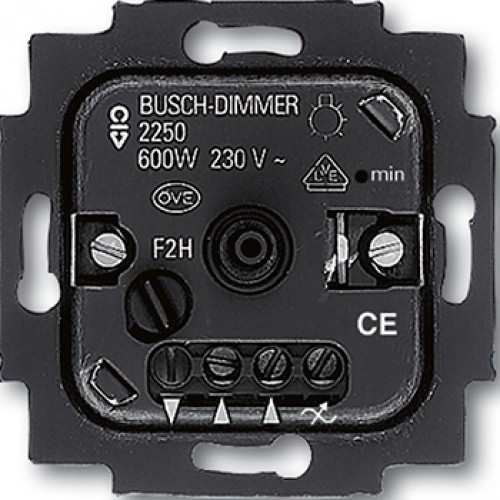 busch jaeger 2250 u dimmer goedkoper met schakelmateriaal. Black Bedroom Furniture Sets. Home Design Ideas