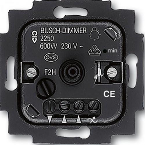 busch jaeger 2250 u dimmer goedkoper met schakelmateriaal. Black Bedroom Furniture Sets. Home Design Ideas