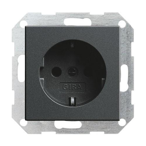 gira 046628 wandcontactdoos met randaarde 16a 250v goedkoper met schakelmateriaal. Black Bedroom Furniture Sets. Home Design Ideas