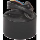 Niko 320-00132 Ronde elektronische 70W-transformator met draadaansluitingen aan primaire en secundaire zijde
