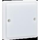 Niko 700-38100 Spuitwaterdicht signaalapparaat met transparante lens en leds Ledkleur rood, exclusief opbouwdoos, White