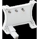 Niko 170-37323 verlichtingseenheid met automatische aansluiting 230V met amberkleurige led voor schakelaars met schroefklemmen