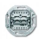 Busch-Jaeger 0215 UAE-datacontactdoos met schuine uitvoer 2 Modular Jack aansluitingen, 8/8-polig