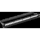 """Niko 650-01900 19""""-patchpaneel voor integratie in 19""""-aansluitkast"""