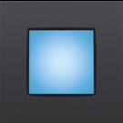 Niko 170-38101 Oriëntatieverlichting met blauwe leds 270 lux, met insteekklemmen en schroeven