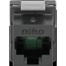 Niko 650-45061 Onafgeschermde RJ45-connector cat. 6 voor bandbreedtes tot 250MHz