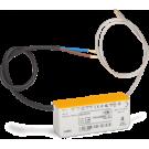 Niko 320-00121 Compacte elektronische 70W-transformator met draadaansluitingen aan primaire en secundaire zijde (niet ingegoten)