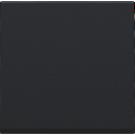 Niko 161-31002 afwerkingsset voor drukknopdimmer 2-100W, Black coated