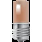 Niko 170-37001 E10-lamp met amberkleurige led voor drukknoppen 6A of signaalapparaten