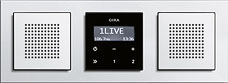 gira inbouwradio rds goedkoper met schakelmateriaal. Black Bedroom Furniture Sets. Home Design Ideas